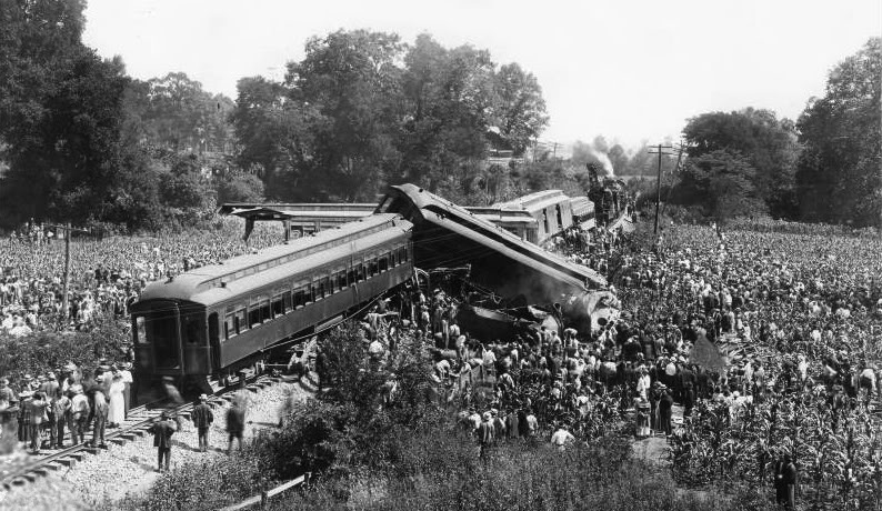 Nashville train wreck at Dutchman's Curve